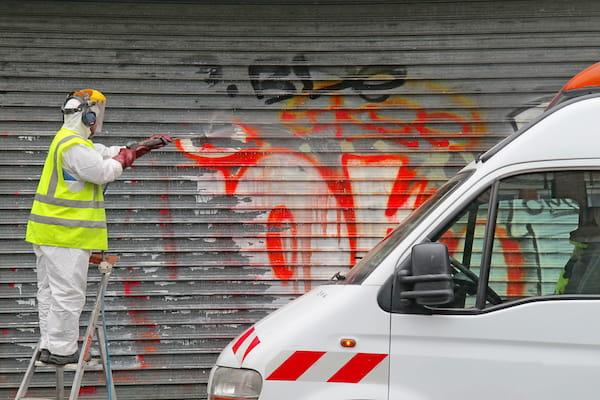 Graffiti Reinigung